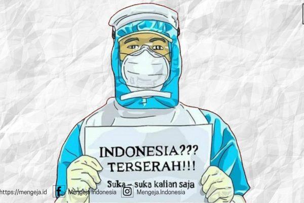 #IndonesiaTerserah: Kekecewaan Warganet Atas Kebijakan Pemerintah Indonesia Dalam Menangani Covid19