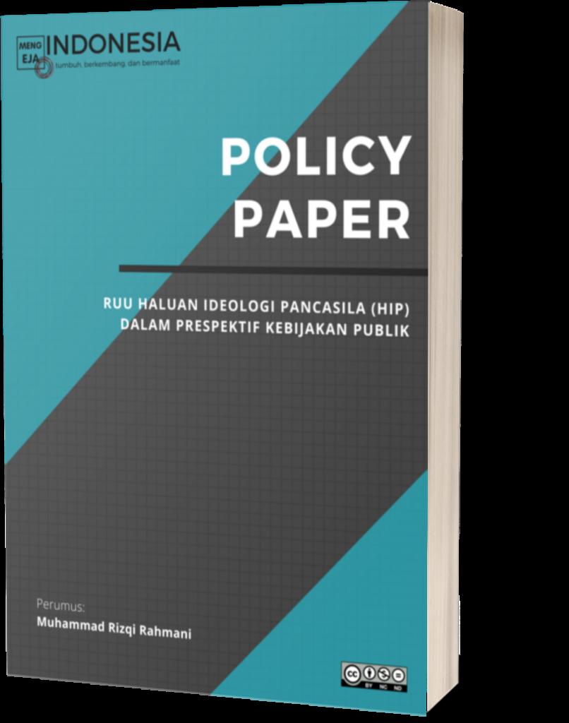 Book Cover: Policy Paper: RUU Haluan Ideologi Pancasila (HIP) Dalam Prespektif Kebijakan Publik